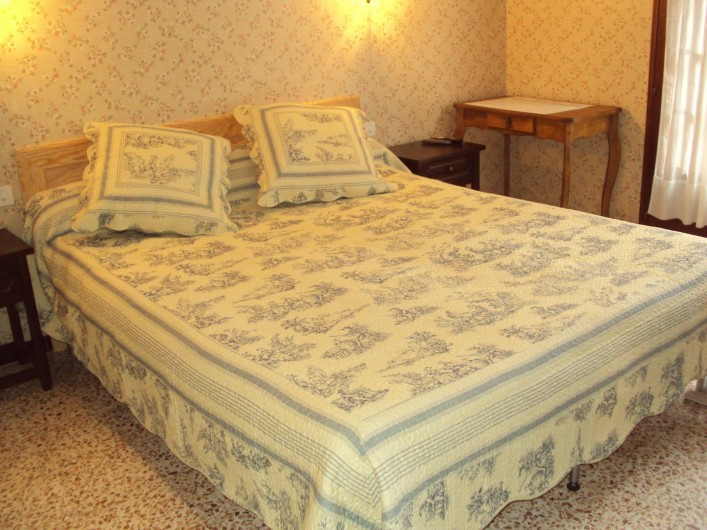 Location de vacances - Hôtel - Auberge à Malarce-sur-la-Thines - vue d'une autre chambre