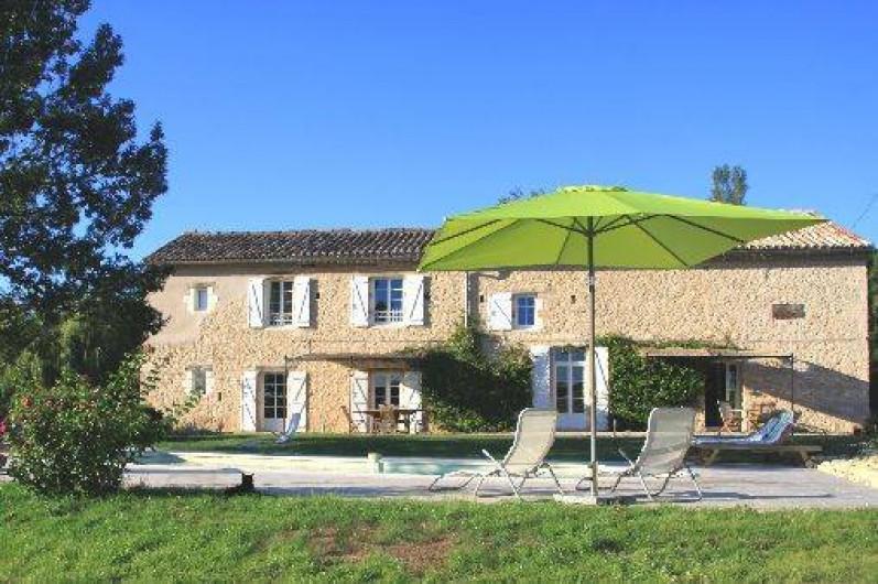 Location de vacances - Gîte à Senouillac - la maison côté sud