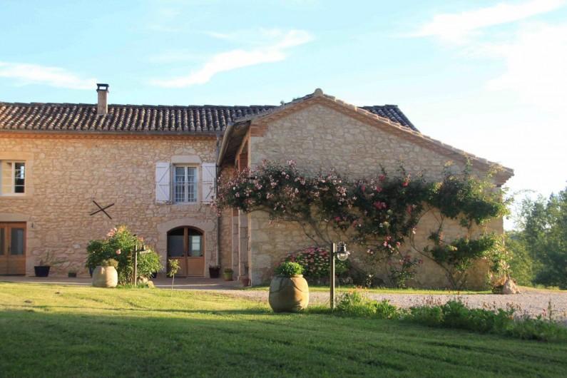 Location de vacances - Gîte à Senouillac - la maison côté nord