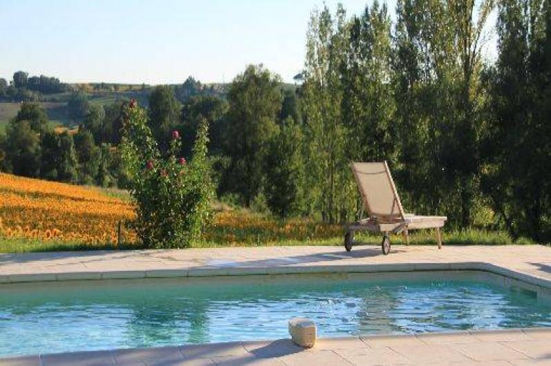 Location de vacances - Gîte à Senouillac - la piscine