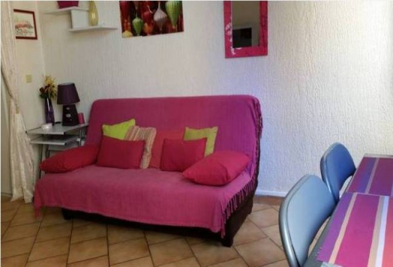 Location de vacances - Studio à Nice - Salon-séjour