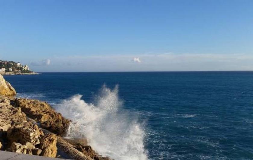 Location de vacances - Studio à Nice - Vue Mer