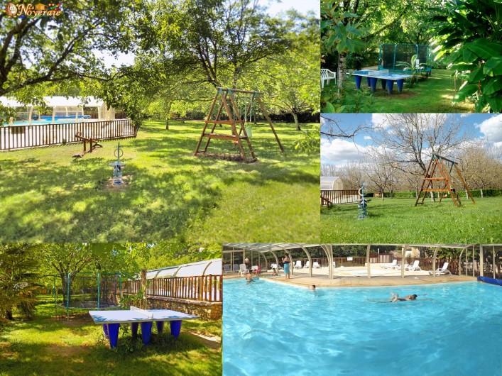 Location de vacances - Chalet à Sarlat-la-Canéda - Les activités de jeux en plein air