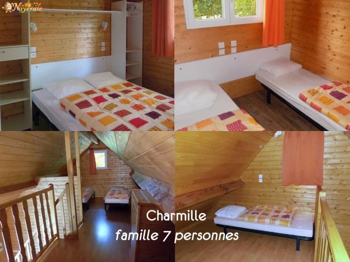 Location de vacances - Chalet à Sarlat-la-Canéda - Les 3 chambres du Charmille, 1.5 salle de bain