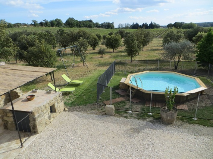 Location de vacances - Gîte à Sainte-Cécile-les-Vignes