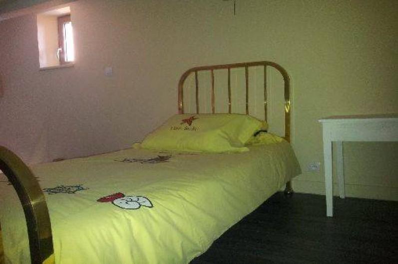 Location de vacances - Gîte à Châtel-Guyon - sur la mezzanine : lit en 90 pour ado