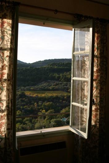 Location de vacances - Villa à Le Barroux - Vue du séjour