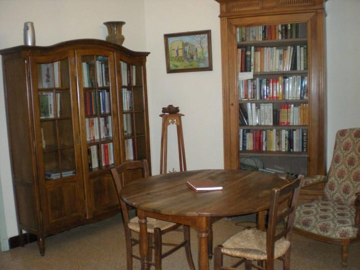 Location de vacances - Villa à Le Barroux - L'entrée bibliothèque