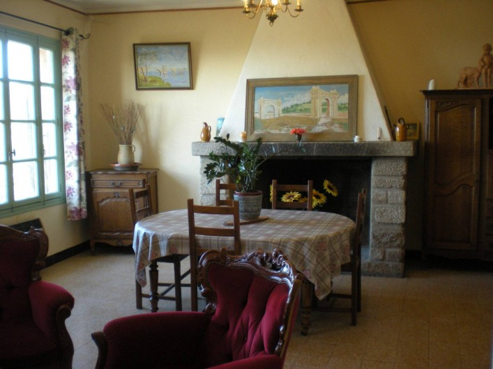 Location de vacances - Villa à Le Barroux - Le séjour