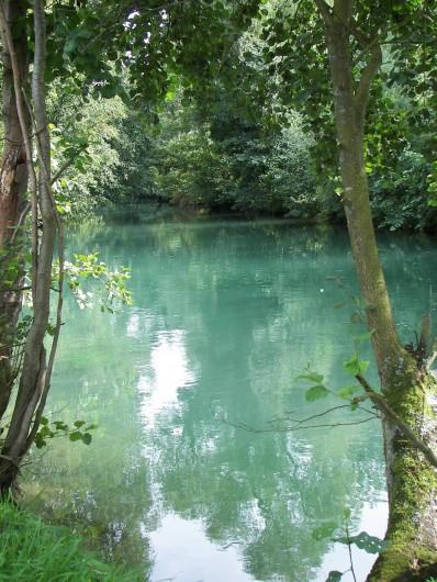 Location de vacances - Bungalow - Mobilhome à Tortefontaine - AUTHIE RIVIERE DE 1ERE CATEGORIE