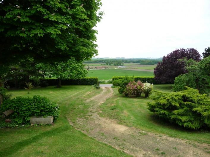 Location de vacances - Maison - Villa à Verrue - une vue du paysage depuis la maison !