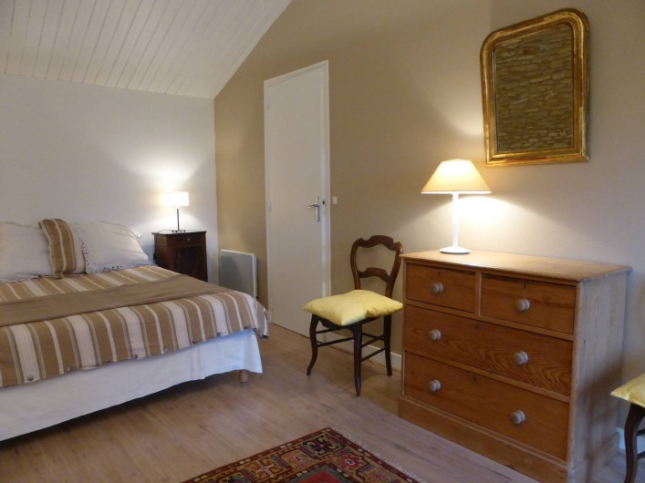 Location de vacances - Maison - Villa à Verrue - 1é Chambre