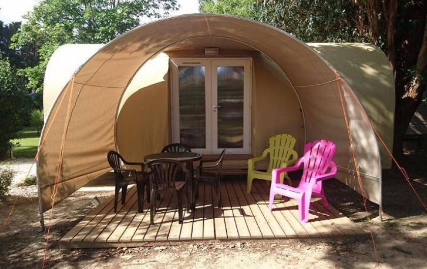 Location de vacances - Bungalow - Mobilhome à Palau-del-Vidre - Coco Sweet 4 pers