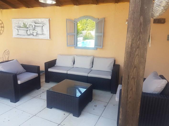 Location de vacances - Villa à Saint-Pierre-de-Vassols - Pool House