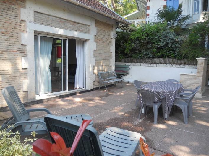 Location de vacances - Villa à Arcachon - Terrasse