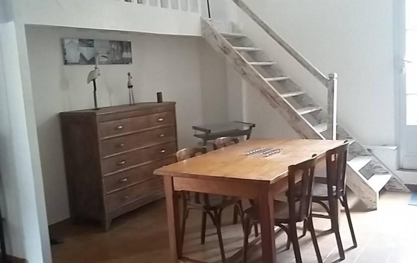 Location de vacances - Villa à Arcachon - Salle à manger appartement bas