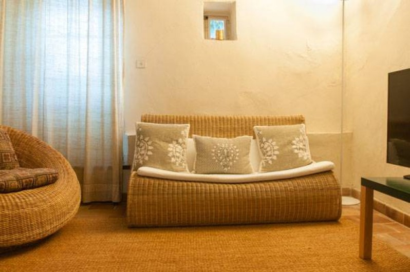 Location de vacances - Maison - Villa à Fayence - Chambre télévision