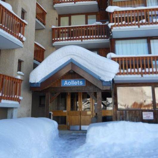 Location de vacances - Studio à Mâcot-la-Plagne - Entrée immeuble