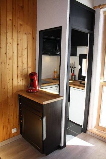 Location de vacances - Studio à Mâcot-la-Plagne - Cuisine