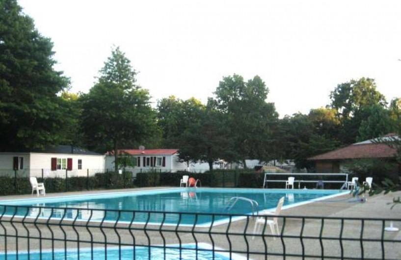 Location de vacances - Bungalow - Mobilhome à Capbreton - piscine du camping