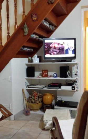 Location de vacances - Villa à Sainte-Anne - Espace TV