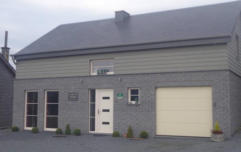 Location de vacances - Maison - Villa à Libramont - nouvelle construction 4 façades parking 3 places