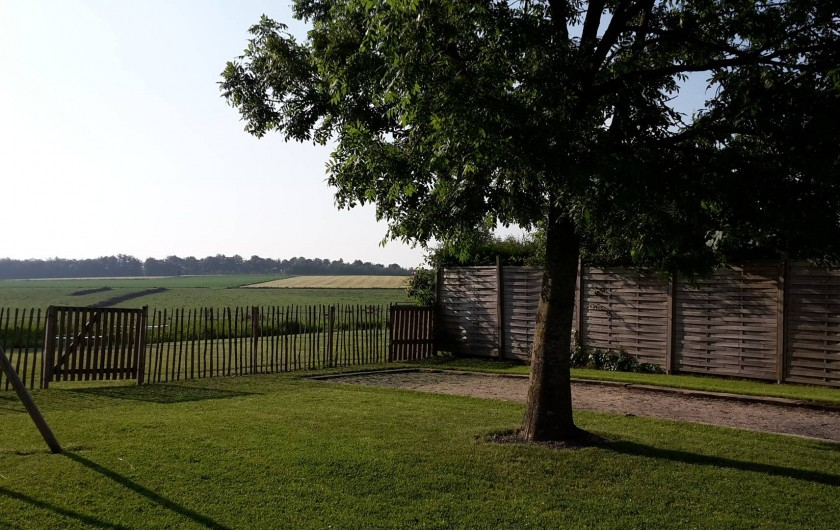 Location de vacances - Maison - Villa à Libramont - vue sur les champs et la campagne