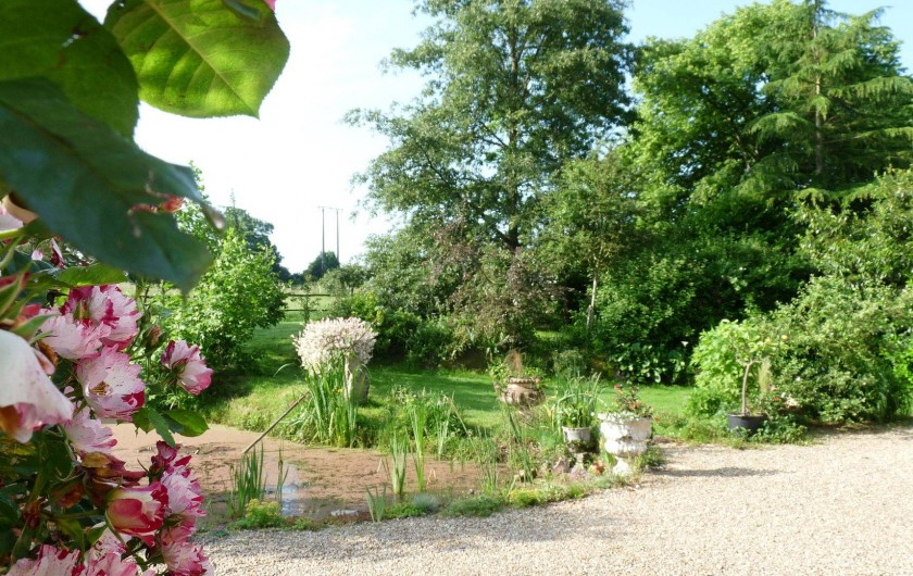 Location de vacances - Chambre d'hôtes à Dissay-Sous-Courcillon - parc