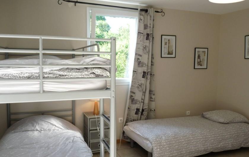 Location de vacances - Chambre d'hôtes à Dissay-Sous-Courcillon - pièce attenante au chalet