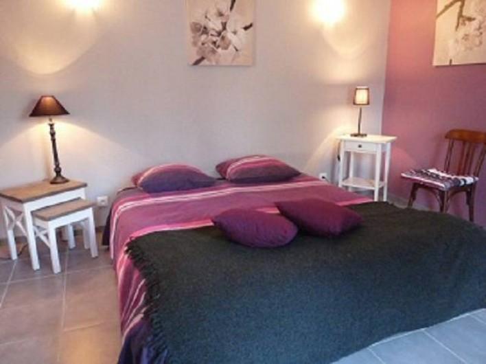 Location de vacances - Chambre d'hôtes à Dissay-Sous-Courcillon - chambre zen et dans pièce attenate 3 lits Japonais sur Tatamis
