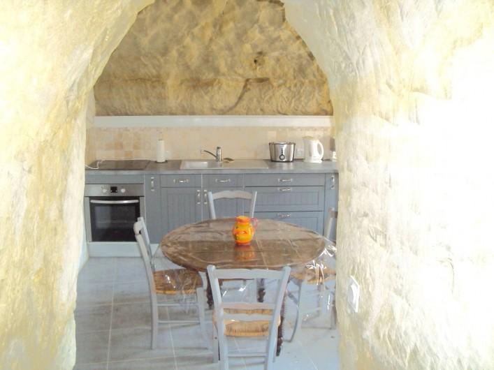 Location de vacances - Gîte à Dénezé-sous-Doué - cuisine