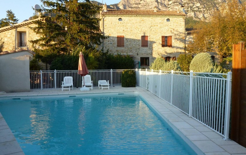 Location de vacances - Gîte à Saou - Gîtes de Grange Rouge*** en Drôme Provençale