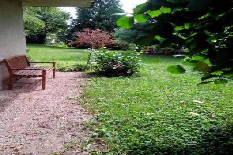Location de vacances - Gîte à Fénétrange - jardin