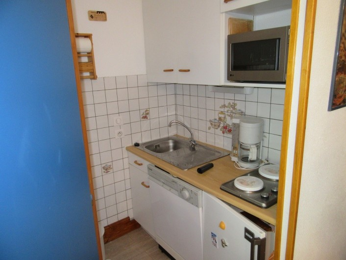 Location de vacances - Appartement à Arêches - coin cuisine