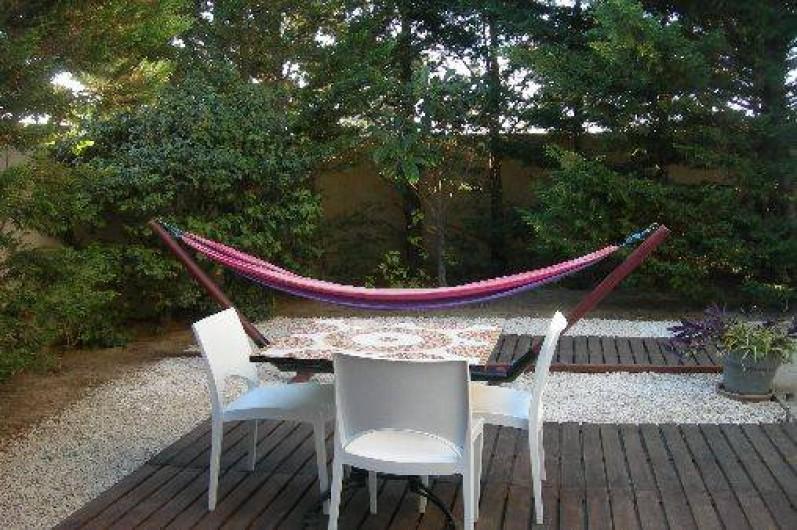 Location de vacances - Gîte à Elne - votre jardin privatif