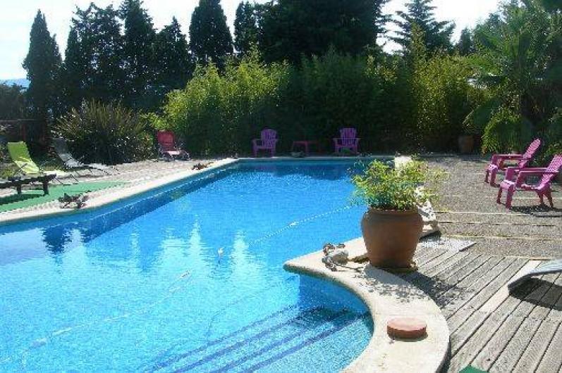 Location de vacances - Gîte à Elne - piscine