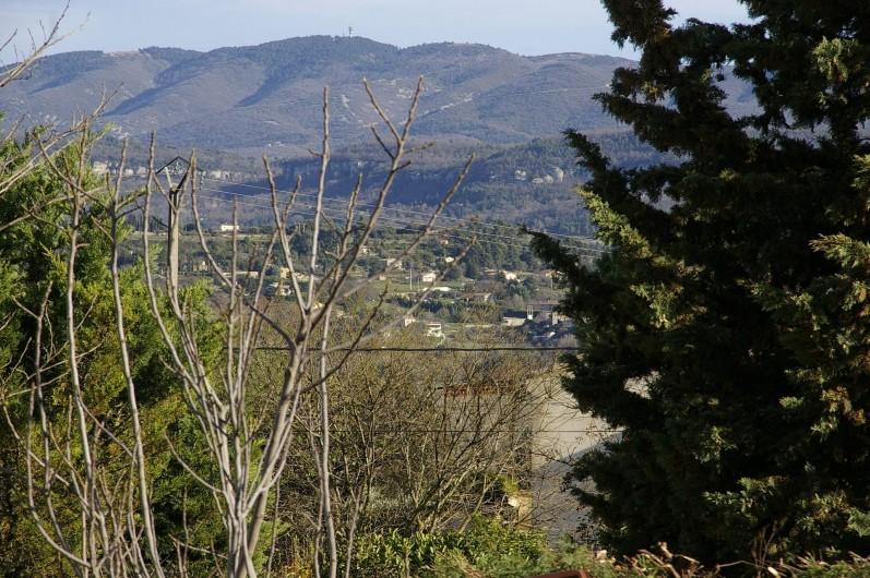 Location de vacances - Gîte à Gargas - vue sur le Lubéron