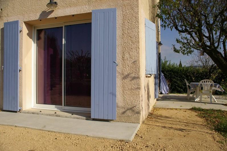 Location de vacances - Gîte à Gargas - les 2 terrasses