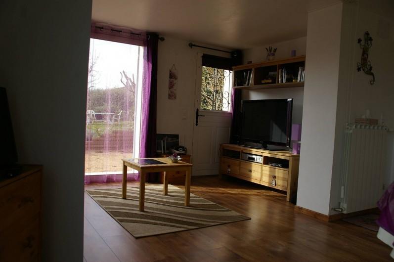 Location de vacances - Gîte à Gargas - salon transformable en chambre