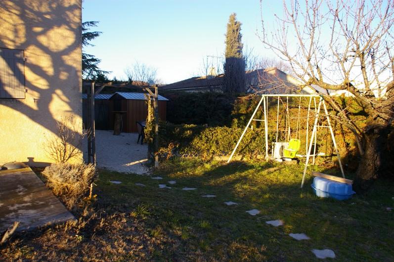 Location de vacances - Gîte à Gargas - champs de lavande dans le lubéron