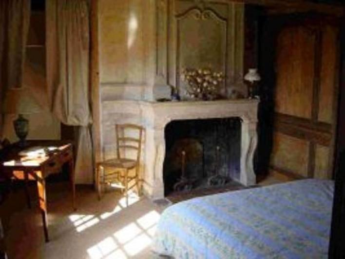Location de vacances - Gîte à Saint-Georges-en-Auge - Chambre Louis XV 2