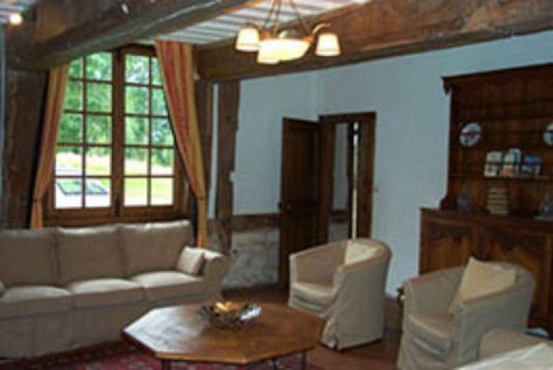 Location de vacances - Gîte à Saint-Georges-en-Auge - Salon