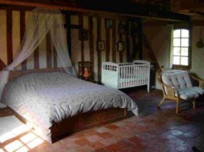 Location de vacances - Gîte à Saint-Georges-en-Auge - Chambre africaine 2
