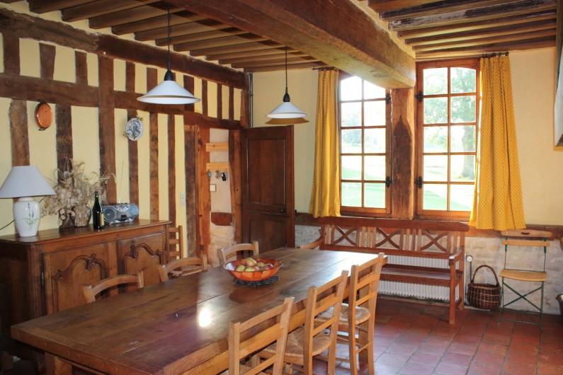 Location de vacances - Gîte à Saint-Georges-en-Auge - Salle à manger
