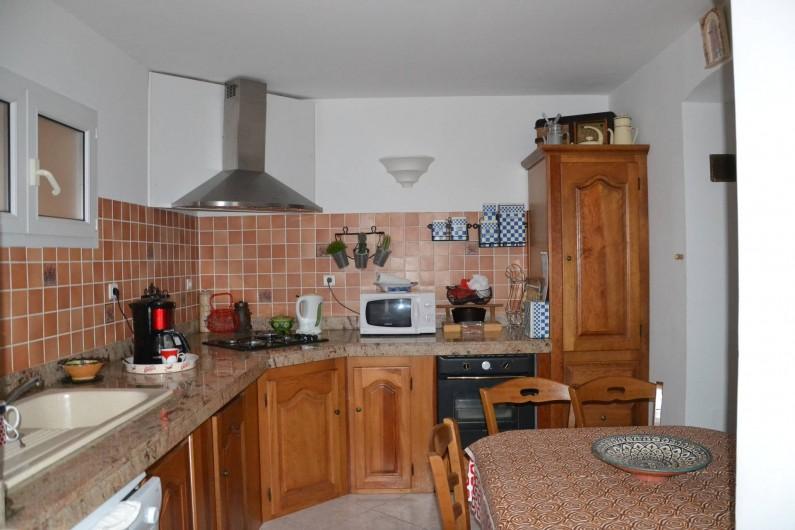 Location de vacances - Appartement à Moltifao - cuisine