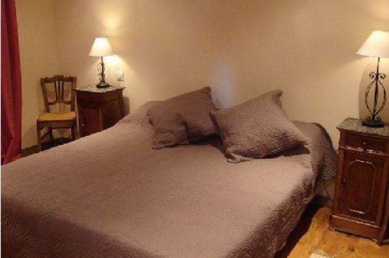 Location de vacances - Gîte à Ambazac - la chambre N°2 est aménageable en lits simples