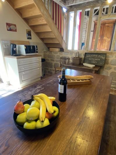 Location de vacances - Gîte à Ambazac - la cuisine est aussi un endroit de convivialité
