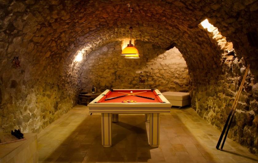 Location de vacances - Chambre d'hôtes à Trets - Coté billard