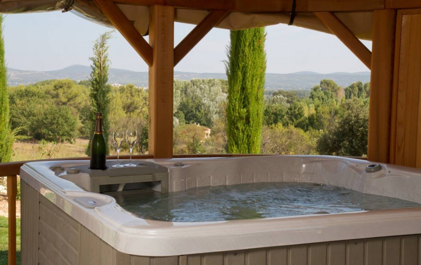 Location de vacances - Chambre d'hôtes à Trets - Coté Spa