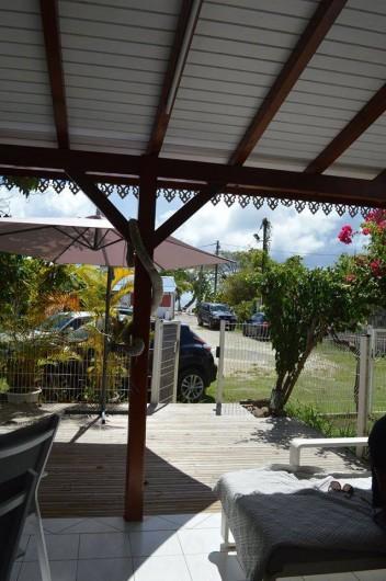 Location de vacances - Maison - Villa à Sainte-Anne - Vue depuis Océane